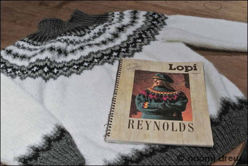 Sweater with Pattern Book