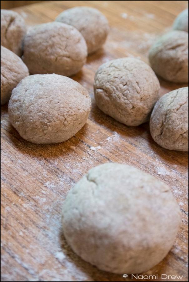 Rye Dough Balls