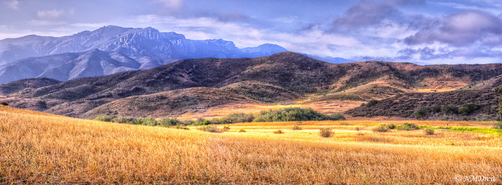 Toward Mount Boney