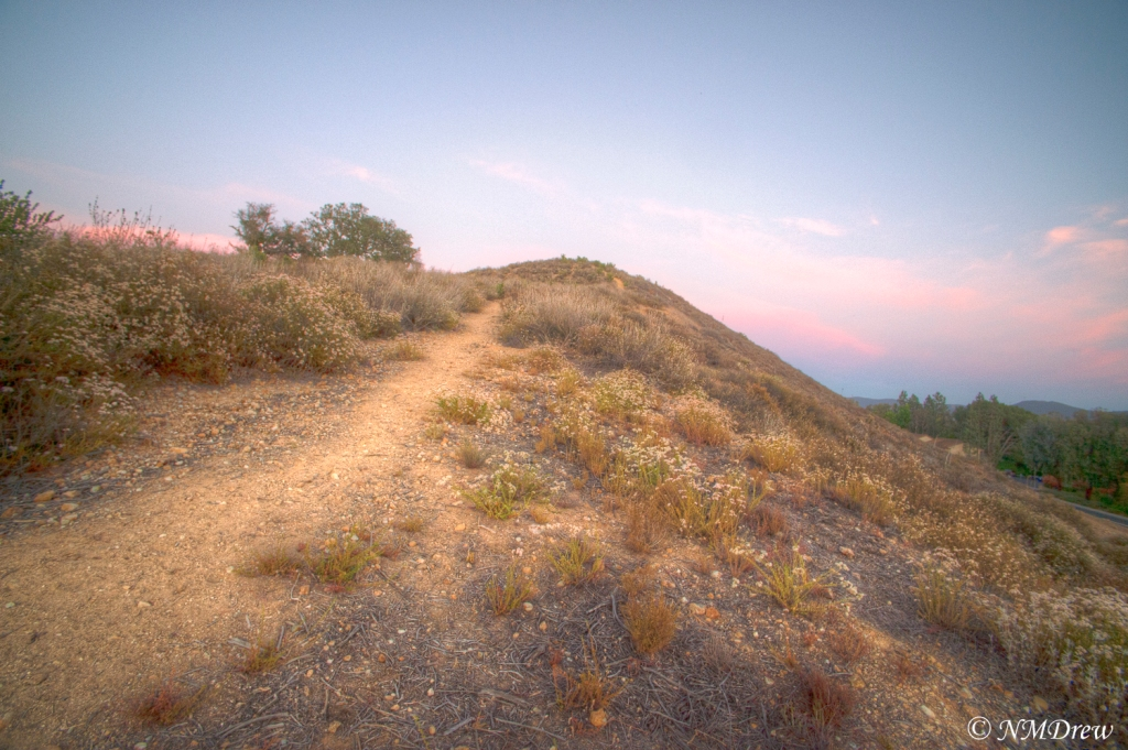Sunset Along the Trail