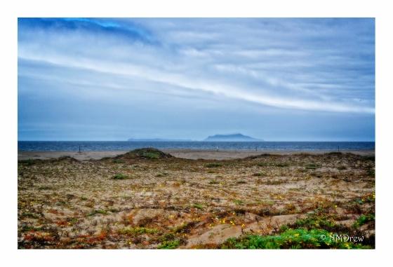 Anacapa Island from Ormond Beach