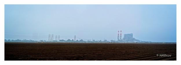 Power Plant and Farmland