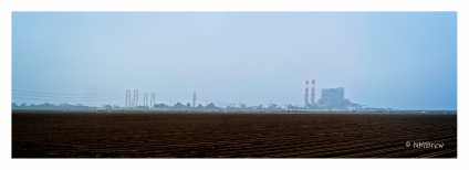 Power Plant and Farmland