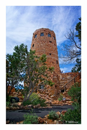 The Desert View Watchtower is a sublime structure and interesting history.