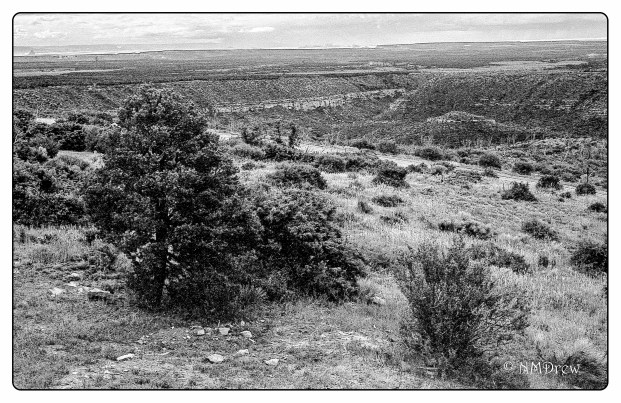 View from Far View in Mesa Verde