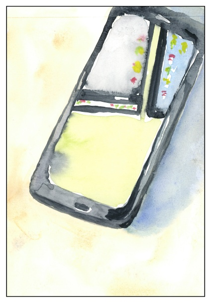Reflections in the Cell Phone