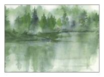 Misty Lake - After Rick Surowicz