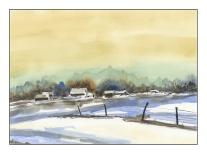 Winter Landscape - After Edo Hannema