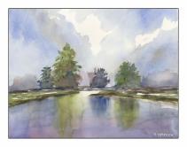 A Dutch Landscape - After Edo Hannema