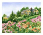 Across a Field of Flowers