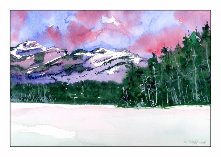 Winter Mountain Morning - 1-2-2020